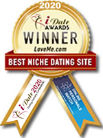 Idate Award Winner - Best Niche Dating Site 2020